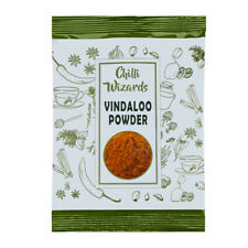 Vindaloo Powder Top Quality Authentic Indian Blend - Chilli Wizards