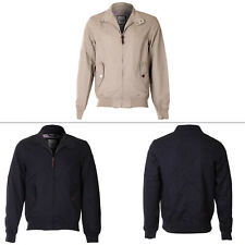 Mens Brave Soul Coat Casual Twill Bomber Retro Style Winter Jacket Long Sleeve M