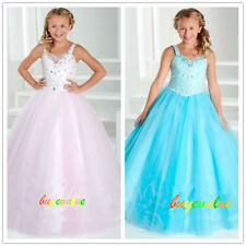 2-14 robe de mariée fille girl wedding dress Fleuriste Robe de soirée dress-G