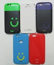 Micromax Canvas Turbo A 250 Smiley Back Cover Cases/Screen Guard/Flip Cover