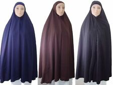 "Hip Length Khimar 42"" Hijab Hejab Niqaab  Jilbab Islamic + Under Scarf      368"