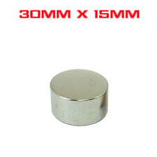 Strong Round Cylinder Magnet 30mm x 15mm Rare Earth Neodymium N733