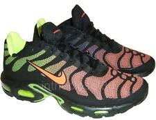 Nike Air Max Plus Tn Hyperfuse Black Hyper Crimson Volt Mens Trainer 483553 087