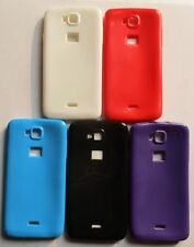 Micromax Canvas L A108 A108 Soft Silicon back Cover cases/Tempered glass/Screen