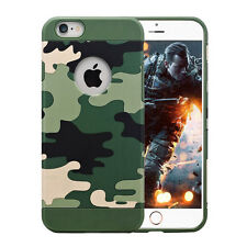 mStick Camouflage Army Hybrid Soft TPU  Back Cover Case For Apple iPhone 5/5S/SE