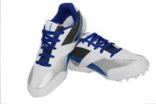 Inspire Cricket Shoe -White Blue (InspirecricketWB)