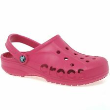 Crocs Baya Ankle Strap Womens Clogs