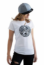 Yin Yang Drum and Bass T Shirt DJ & n Music Producer Synth 808 Machine Womens