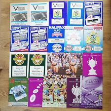 Halifax Rugby League Programmes 1982 - 2000