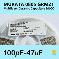 0805 SMD Ceramic Capacitor 10nF - 47uF Murata GRM21 (1st Class Post)