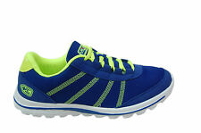 LEE COOPER BRANDED SPORTS SHOES IN BLUE LIME COLORS