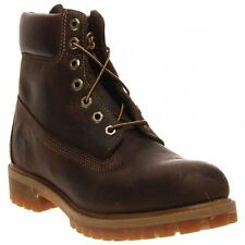 Men's Timberland Heritage Classic Premium Boot Brown Burnished Full-Grain 27097