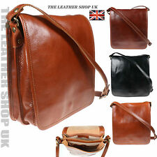 New UK Stylish Messenger High Quality Crossbody Real Leather Bag Made In Italy