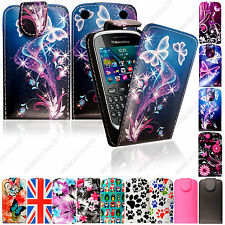 For Various Blackberry Mobile Phones Wallet Flip Leather Printed Case