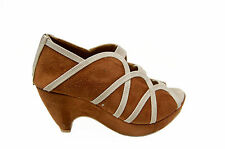 Hi5 FASHION BRANDED WEDGE HEEL SANDAL IN TAN COLOR MRP 1499 405 DISCOUNT 890