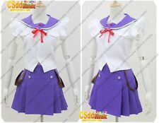 School-Live! Yuki Takeya cosplay costume Japanese uniform purple