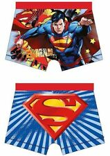 Boys Official DC Comics Superman Character Boxer Trunks