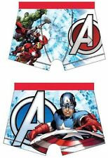 Boys Official Marvel Comics Avengers Character Boxer Trunks