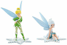 Bullyland Disney Tinkerbell Winterfairy Figures Cake Toppers 2 To Choose From