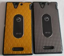 Sony Xperia C3 Hybrid Back Cover Cases/Screen Guard/Tempered Guard