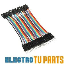 Dupont 10, 20, 40pcs Male to Female 10cm Jumper Wire Ribbon Arduino Cable Pi