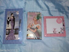 MOTHERS DAY SHOPPING PLANNER NOTES & LISTS OR LIST PAD & PENCIL ART DECO DESIGN