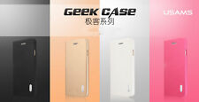 Usams Geek Series High Quality Luxury PU Leather Flip Case for Iphone 6Plus/ 6S+