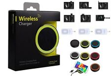 Universal Qi Wireless Charger Ladegerät & Qi Wireless Receiver iPhone Samsung LG