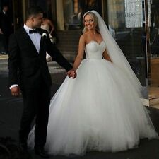 2016 Ivory/White Lace wedding bridal gown dress custom size -6-8-10-12-14-16+++