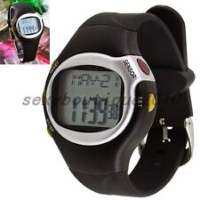 Outdoor Sporting Pulse Heart Rate Monitor Calories Counter Fitness Wrist Watch
