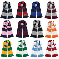 Beechfield Varsity Scarf Football Rugby College Scarf Scarves Unisex B479
