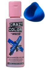 Crazy Color Semi Permanent Hair Tint Capri Blue 44 Colour 100ml