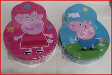 PEPA PIG. LATA DE GALLETAS CHOCOLATE. PEPPA PIG & GEORGE