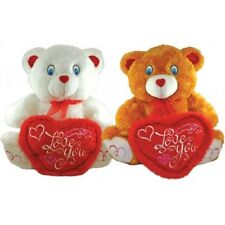 *NEW* JUMBO BROWN LOVE YOU TEDDY BEAR SOFT PLUSH VALENTINES DAY GIFT 26
