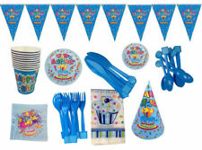 Einweggeschirr Party Bambini Compleanno Decorazione Happy Birthday Senso Unico