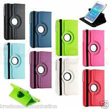 SAMSUNG GALAXY TAB3 8.0 INCH ROTATE CASE ROTATING FLIP COVER T310,T311,P8200 8""