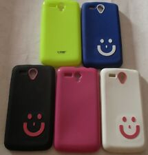 Micromax Canvas Power A 96 Smiley Back Cover Cases/Screen Guard