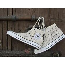 Scarpe Converse All Star CT Hi Specialty Crochet 552999c sneakers donna Beige Pi