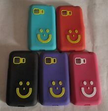 Samsung Galaxy Star 2 G 130 Smiley Soft Silicon Back Cover Cases/Screen Guard