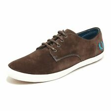 1698H sneakers uomo FRED PERRY foxx suede scarpe shoes men