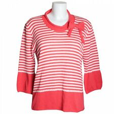 Evalinka Stripe Bow Jumper