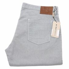 95176 pantaloni BURBERRY LONDON jeans uomo trousers men azzurro
