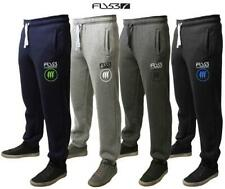 Mens Fly 53 Fleece Tracksuit Bottoms Joggers Sweat Pants Canary