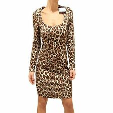 9050F vestito animalier WHO*S WHO VISCOSA abito donna dress women