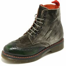 3383G scarponcino donna verde SNOBS  WOMAN scarpa stivale boots shoes women