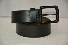 Branded Export Surplus Leather Casual Belt Black Color Authentic Tag Removed