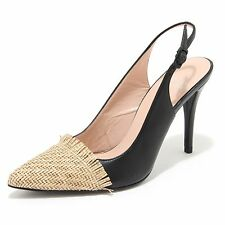 5502M decollete nere donna STUART WEITZMAN toptips decolte women heels shoes