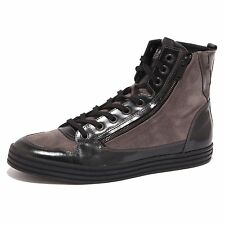 68064 sneaker HOGAN REBEL 141 N.ZIP LATERALE  scarpa uomo shoes