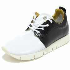 2840I sneakers donna LEATHER CROWN running hand made scarpe shoes women