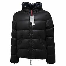 3537M piumino uomo nero DUVETICA giubbotto lana men coats quilted wool jackets